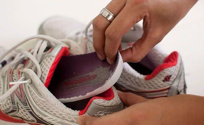 Подготовка обуви к стирке в СМА