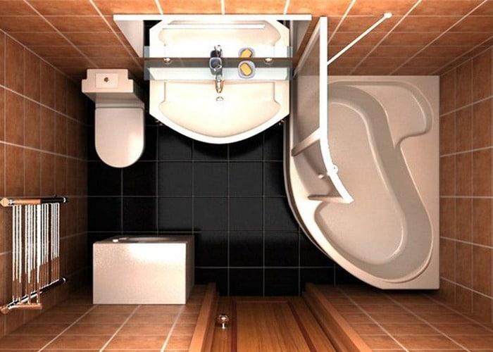 Оптимальное размещение СМА в ванной