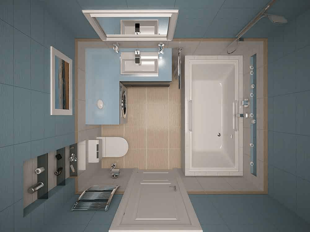 Совмещение санузла и ванной