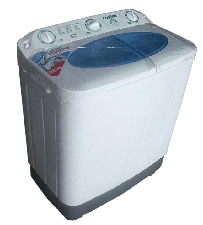 Отечественная полуавтоматическая стиральная машина «Славда» WS-80PET