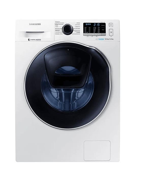 СМА с сушкой - Samsung WD80K5410OW