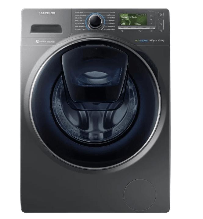 Черная СМА Samsung WW12K8412OX