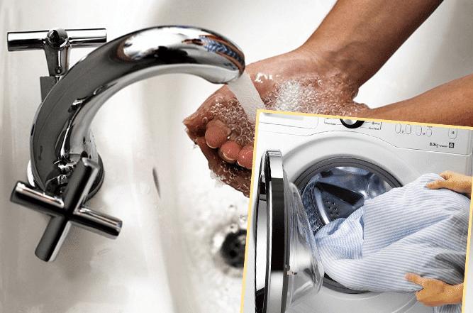 Напор воды в кране