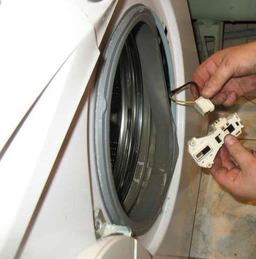 Отключение УБЛ стиральной машины-автомат