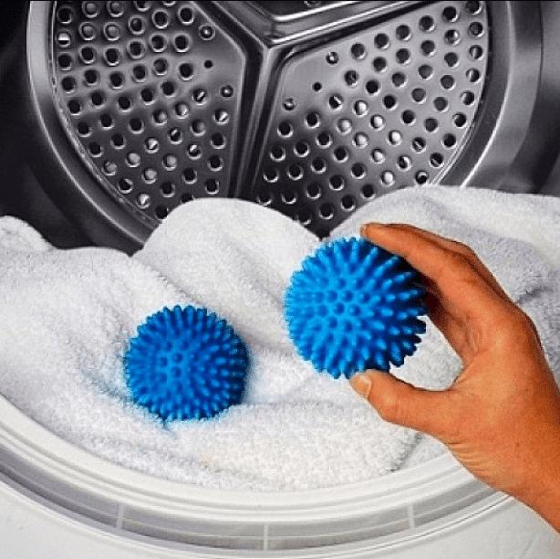 Использование шариков для стирки
