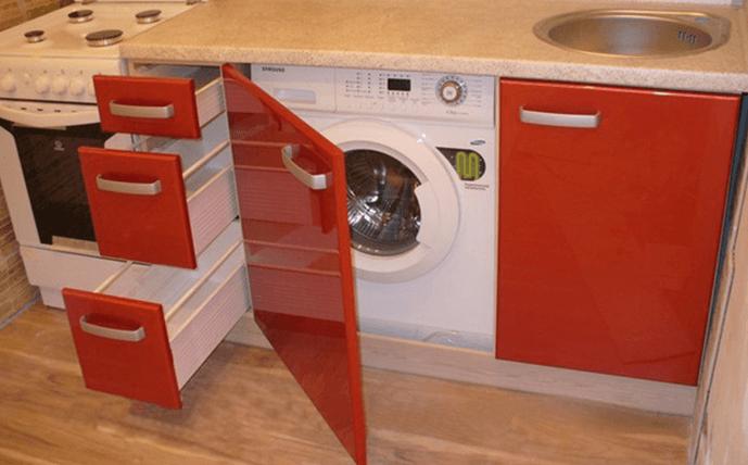 СМА в мебели кухни