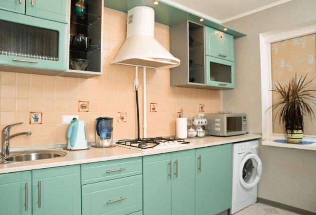 Грамотная установка СМА на кухне