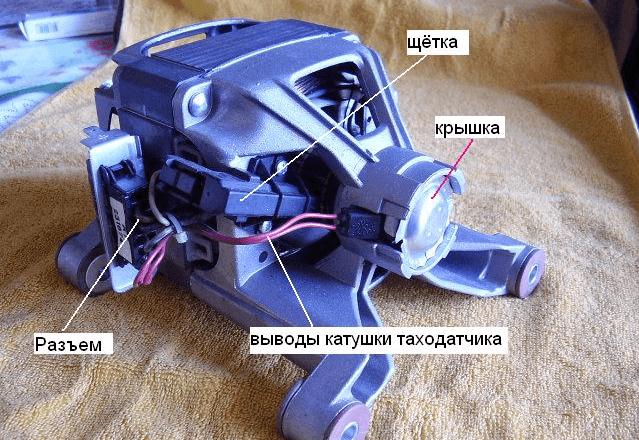 Общее устройство двигателя СМА
