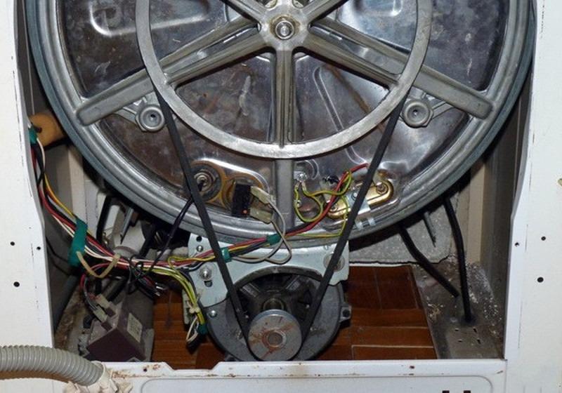 Ременная передача от двигателя СМА
