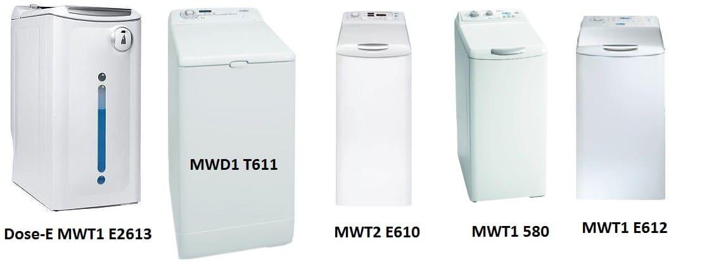 Модельный ряд вертикальных СМА Mabe