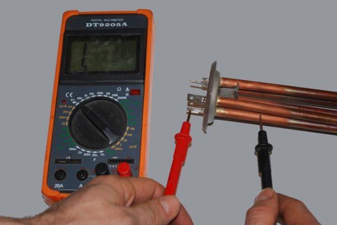 Тест мультиметром