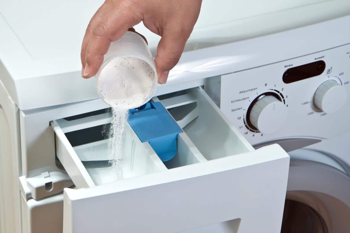 Дозировка стирального порошка в лоток СМА