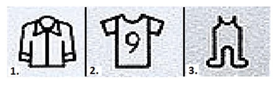 Режим для рубашек и детских вещей