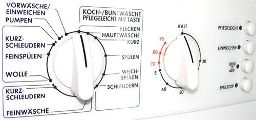 Немецкие обозначения режимов