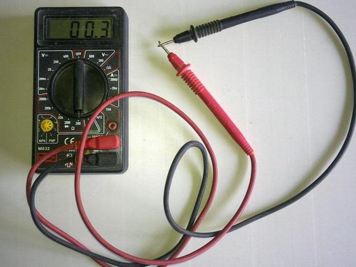 Мультиметр для тестирования