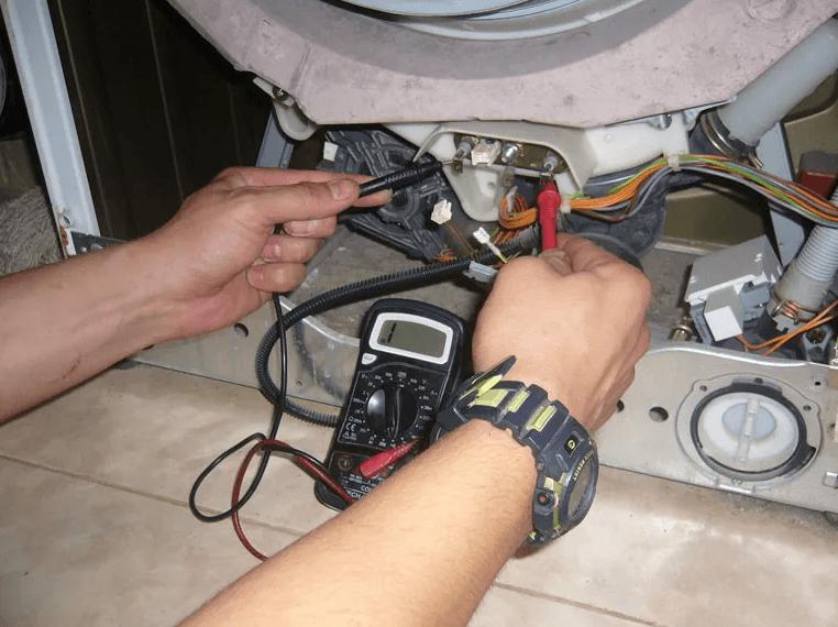 Тестирование ТЭНа СМА мультиметром