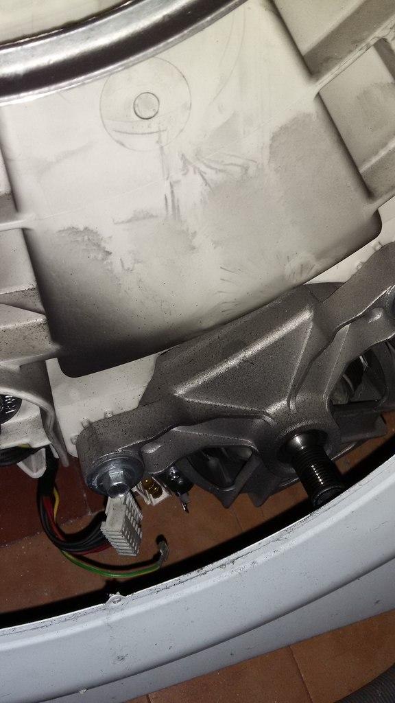 Лапки крепежа двигателя СМА