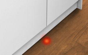Что такое луч на полу в посудомоечной машине