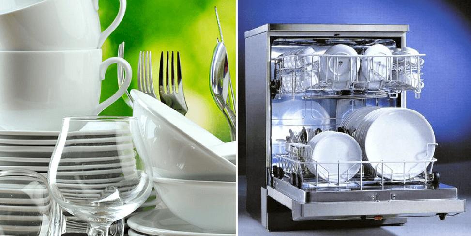 Загрузка посуды в ПММ