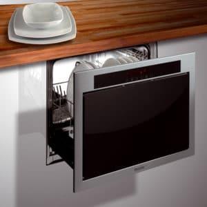 Выдвижная посудомоечная машина
