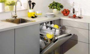 Посудомоечная машина Ардо в интерьере кухни