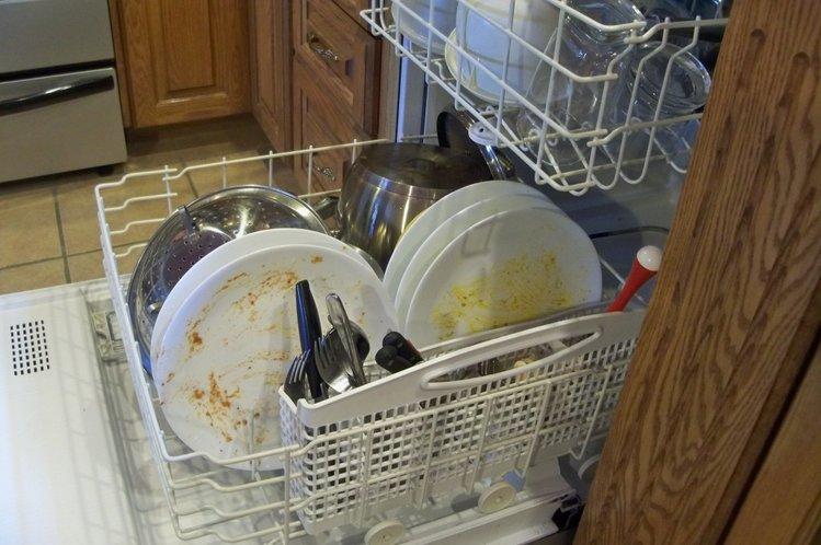 Загрузка посуды в ПММ Аско