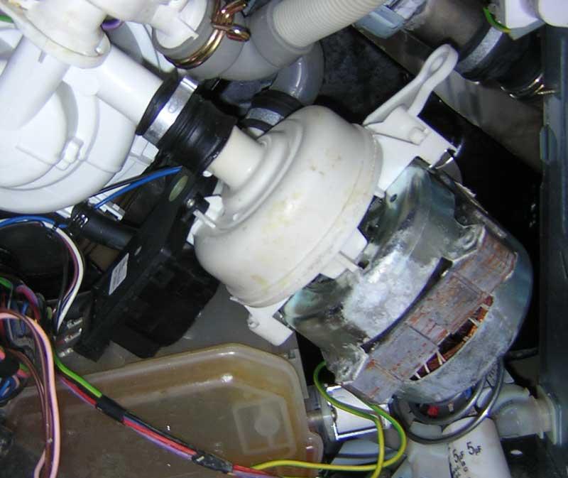 Циркуляционная помпа посудомоечной машины