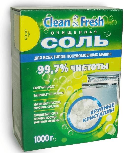 Очищенная соль КлинФреш