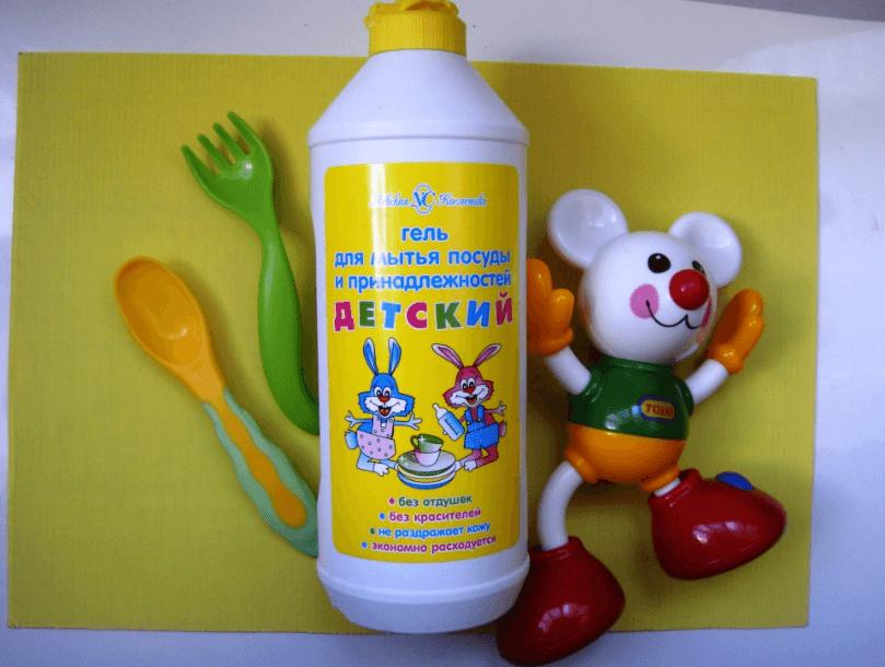 Гель для мытья детской посуды