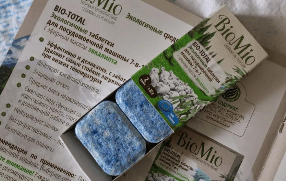 Упаковка таблеток BioMio