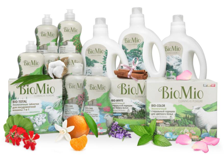 Ассортимент средств BioMio