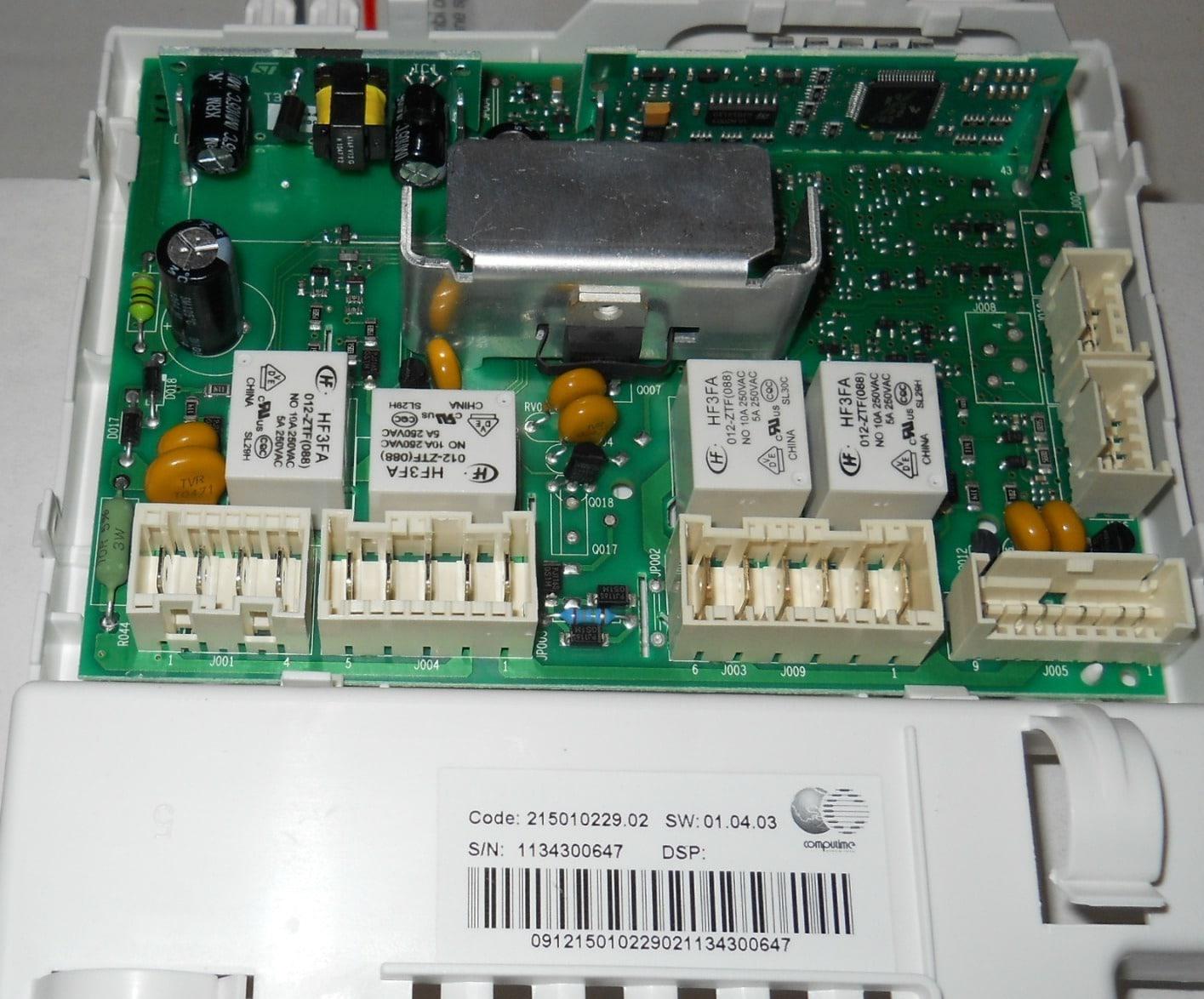 Модуль управления посудомоечной машиной