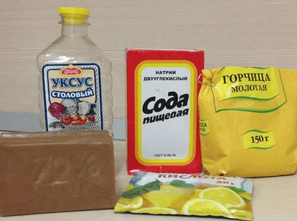 Ингредиенты для самодельной моющей пасты