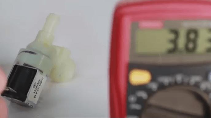 Тестирование клапана ПММ мультиметром