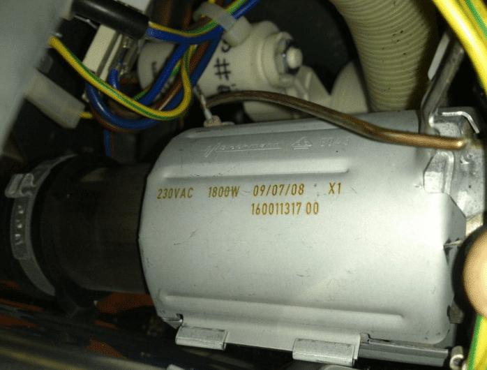 ТЭН и нагревательный блок ПММ