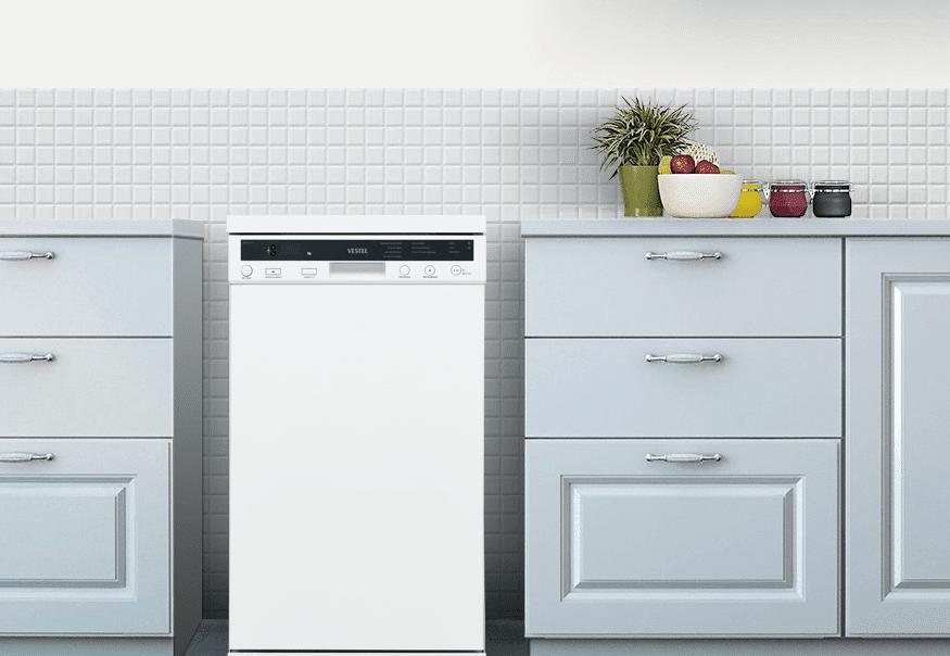 Посудомоечная машина Vestel в интерьере