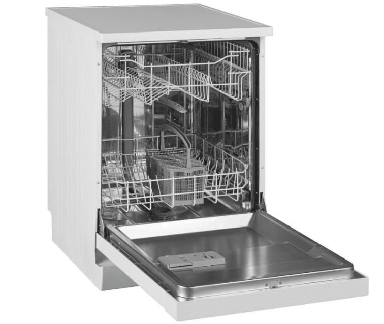 Полноразмерная и экономная ПММ модели Vestel VDWTC 6031 W