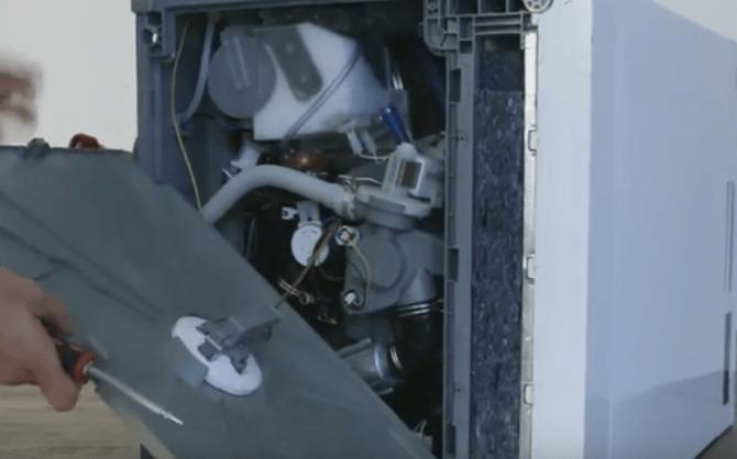 Разборка посудомоечной машины Индезит