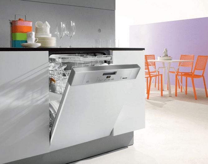 ПММ Миле в кухонном интерьере