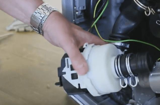 Демонтаж двигателя ПММ