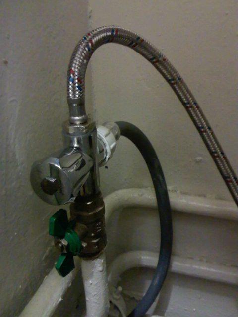Подключение ПММ к водопроводу