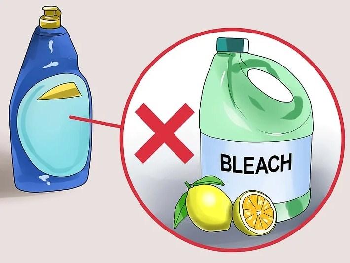 Моющее средство без лимонной кислоты