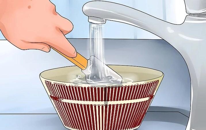 Мытье фарфоровой посуды