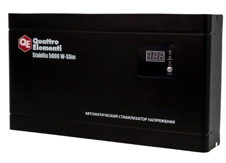 Продвинутый стабилизатор QUATTRO ELEMENTI Stabilia 5000 W-Slim 640-544