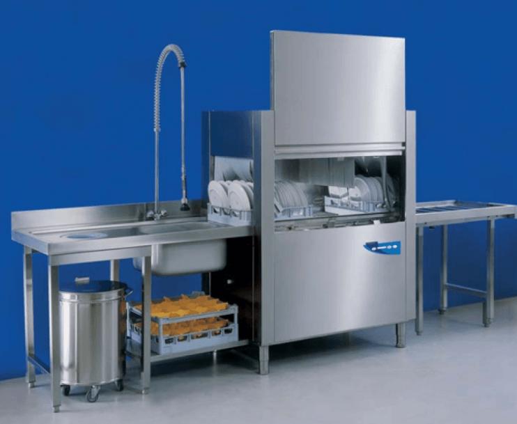 Профессиональная промышленная посудомоечная машина