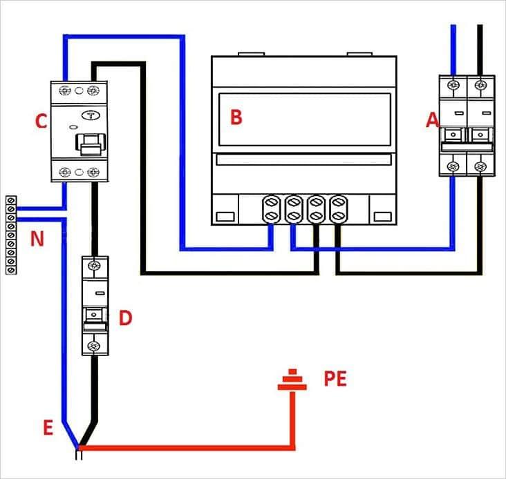 Организация подключения адекватной электросхемы
