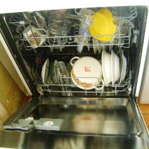 Посуда загруженная в ПММ