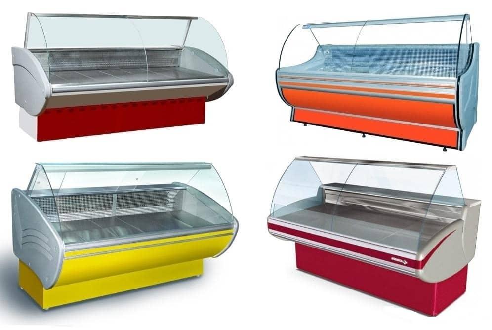 Холодильные и морозильные витрины