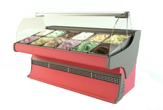 Холодильная витрина для мороженого