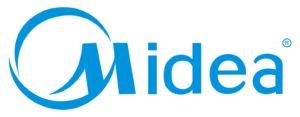 Официальный логотип бренда Midea